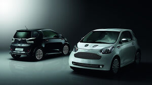 Aston Martin Cygnet, Launch Edition White and Black
