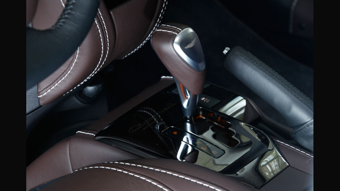 Aston Martin Cygnet, Schaltknauf, Schalthebel