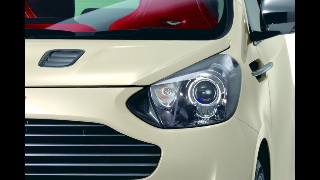 Aston Martin Cygnet Scheinwerfer