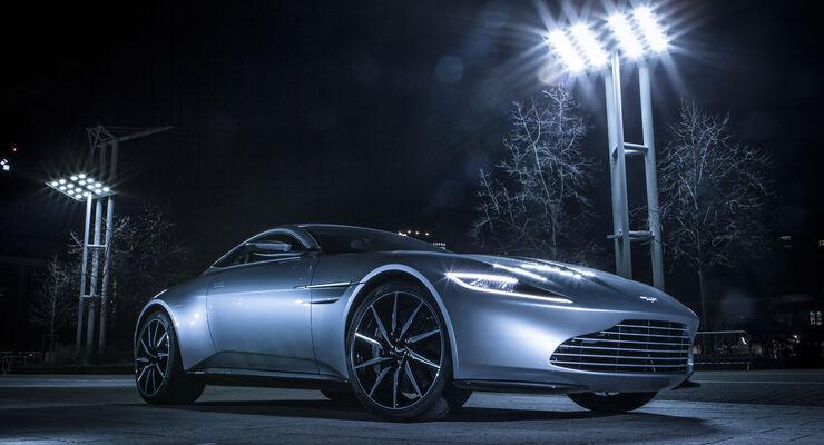 Aston Martin DB10 - Ausfahrt - James Bond - Sportwagen - V8