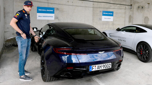 Aston Martin DB11 - Dienstwagen - F1-Piloten 2019