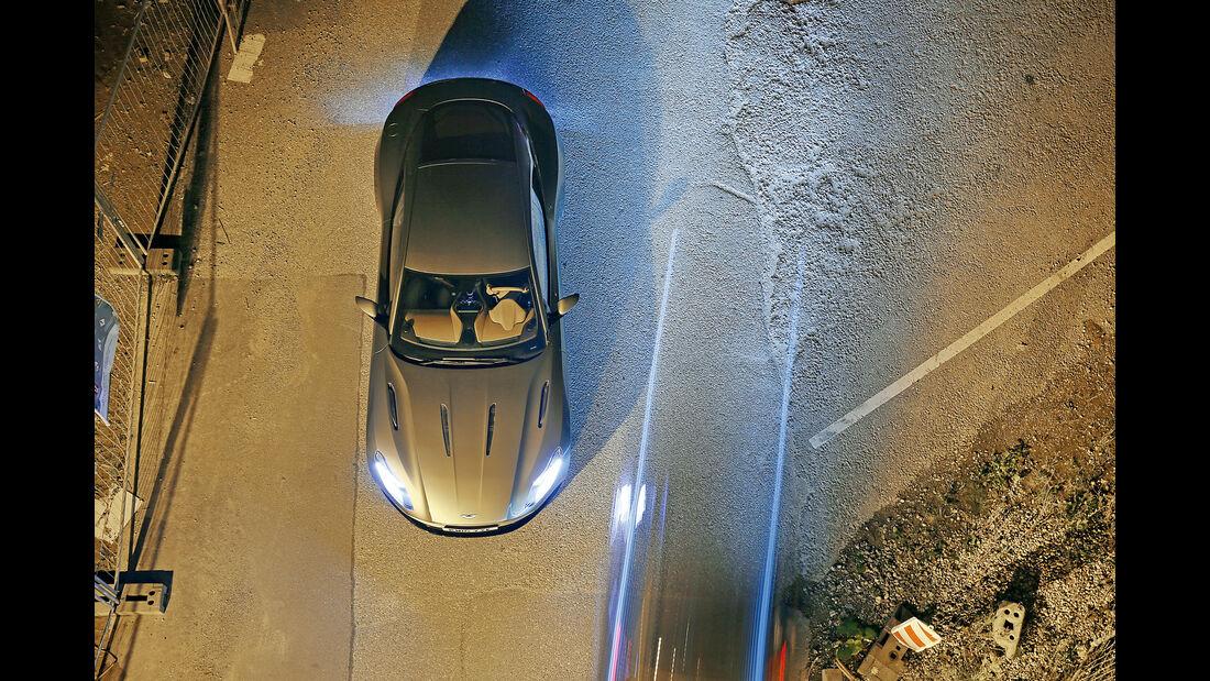 Aston Martin DB11, Draufsicht