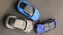 Aston Martin DB11, Jaguar F-Type SVR, BMW M6 Competition