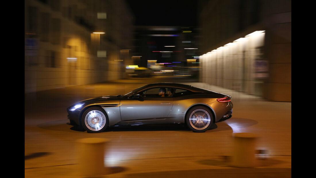 Aston Martin DB11, Seitenansicht