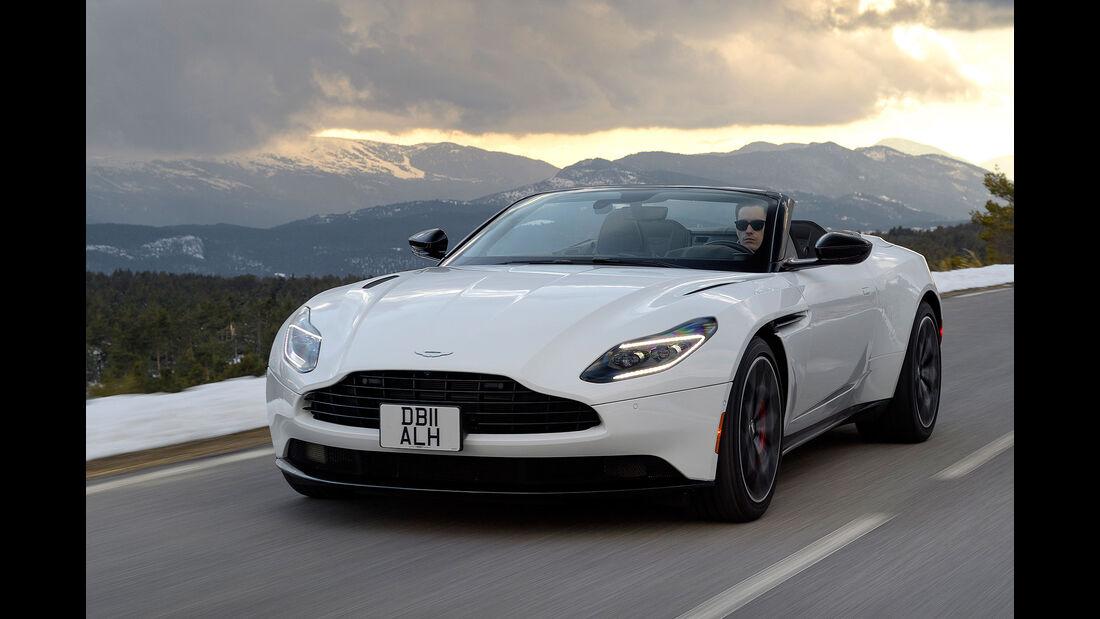 Aston Martin DB11 Volante Fahrbericht