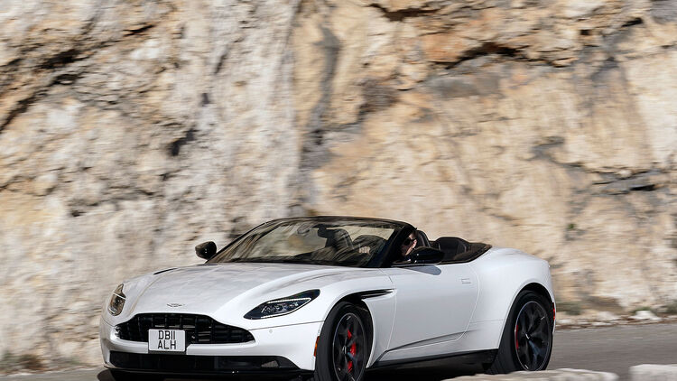 Aston Martin Db11 Volante Daten Infos Marktstart Preis Fahrbericht Auto Motor Und Sport