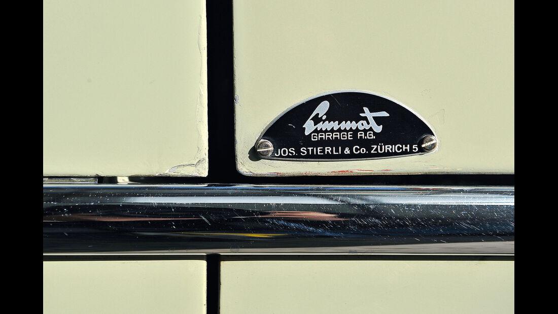 Aston Martin DB2, Händlerplakette