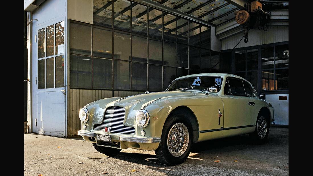 Aston Martin DB2, Seitenansicht