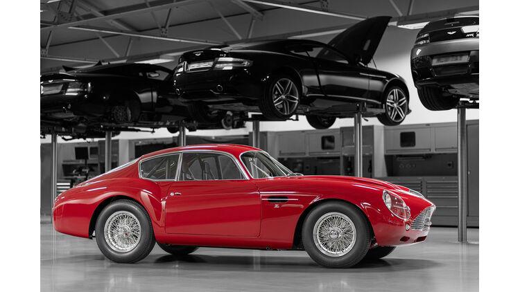 Aston Martin Dbs Gt Zagato Und Db4 Gt Zagato Im Duo Pack Auto Motor Und Sport