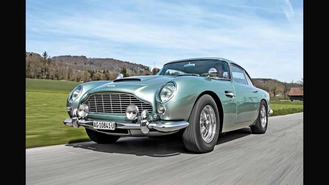 Aston Martin DB4 Vantage, Frontansicht