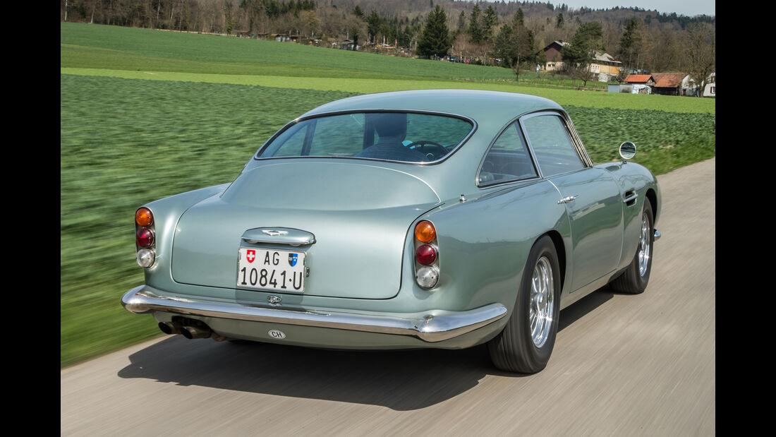 Aston Martin DB4 Vantage, Heckansicht