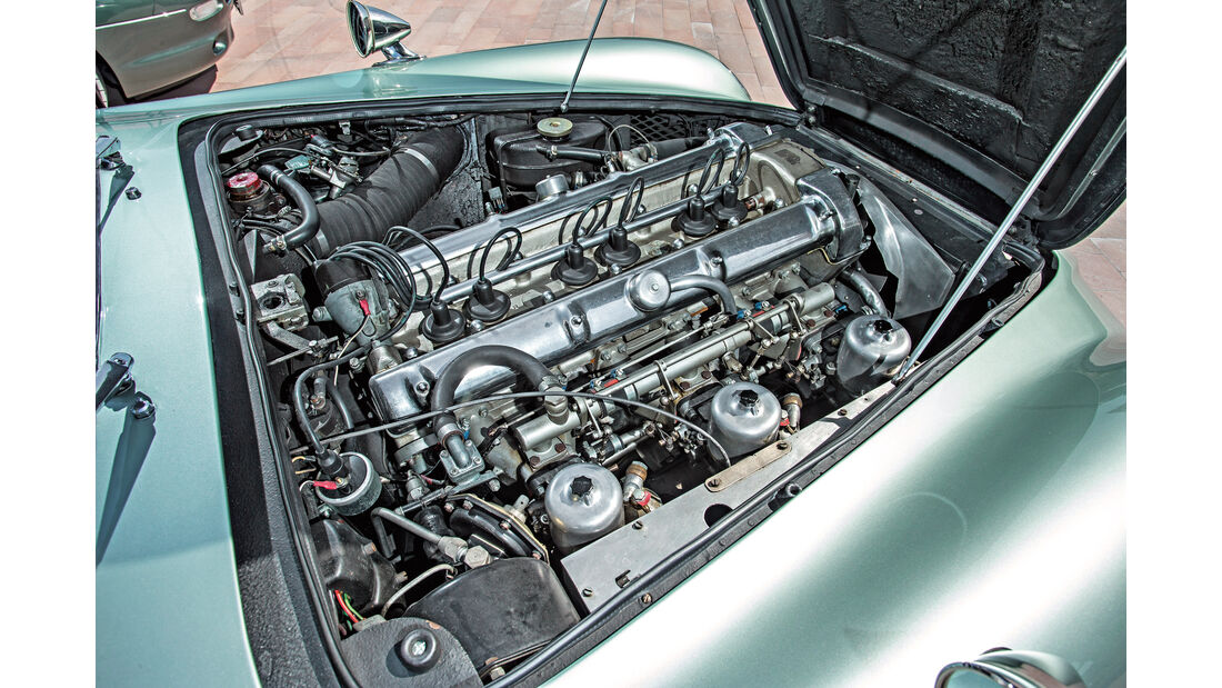 Aston Martin DB4 Vantage, Motor
