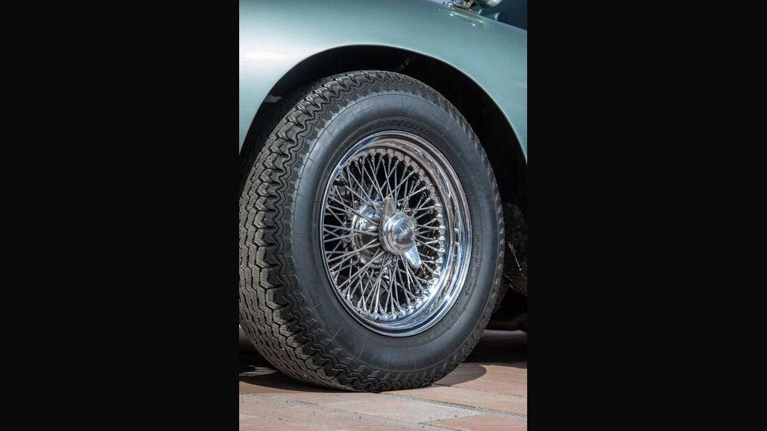 Aston Martin DB4 Vantage, Rad, Felge