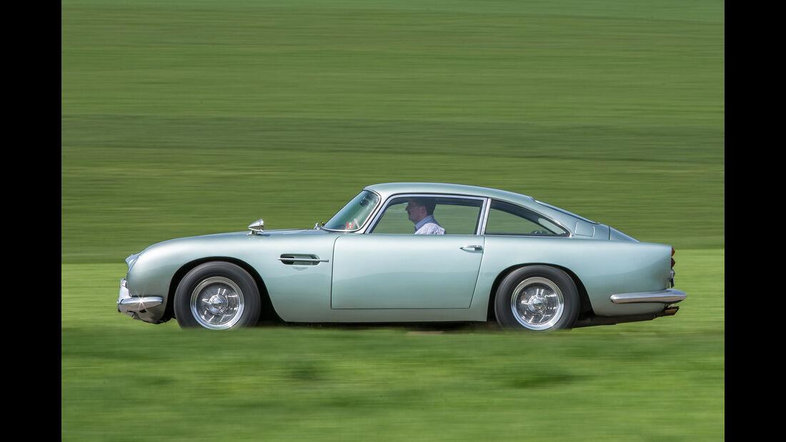 Aston Martin DB4 Vantage, Seitenansicht