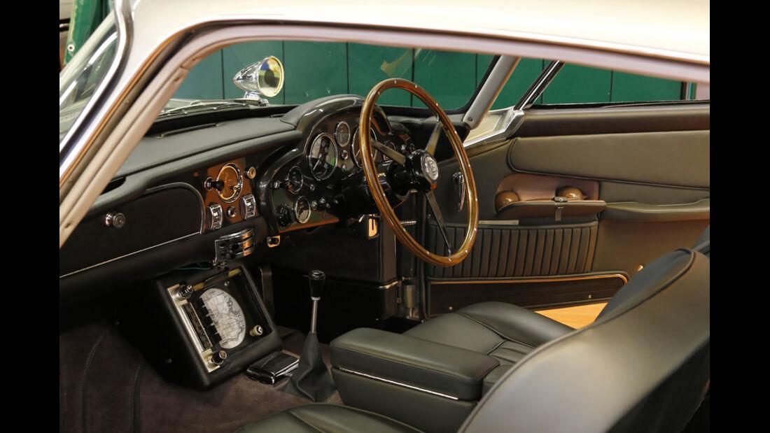 "Aston Martin DB5 ""007"", Innenraum"