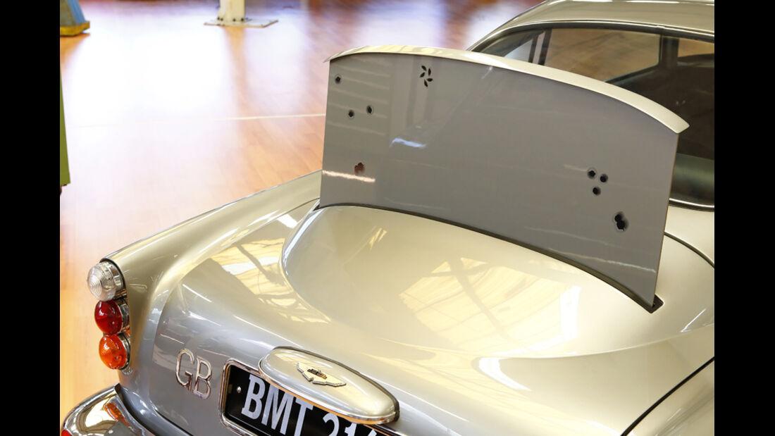 "Aston Martin DB5 ""007"", Kugelfang"