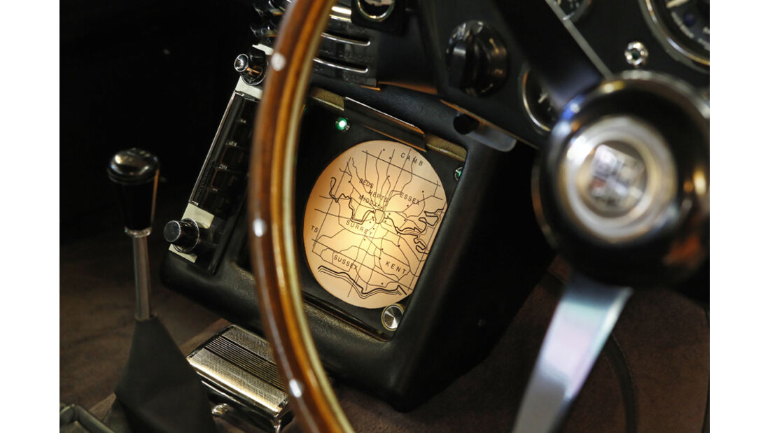 "Aston Martin DB5 ""007"", Lenkrad"