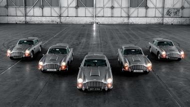 Aston Martin DB5 Auslieferung