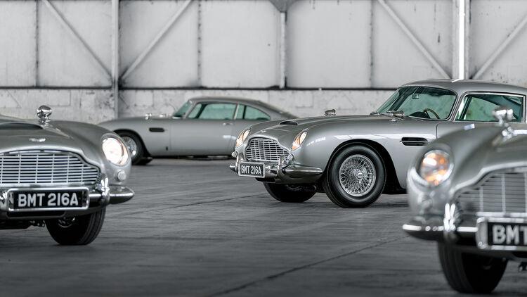 Aston Martin Db5 2020 Die Ersten Fünf Neuen 007 Modelle Sind Fertig Auto Motor Und Sport
