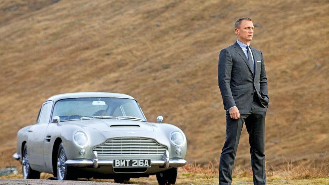 Aston Martin DB5, Daniel Craig