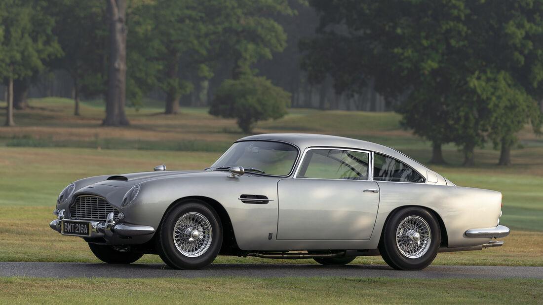 Aston Martin DB5 Goldfinger, Exterieur