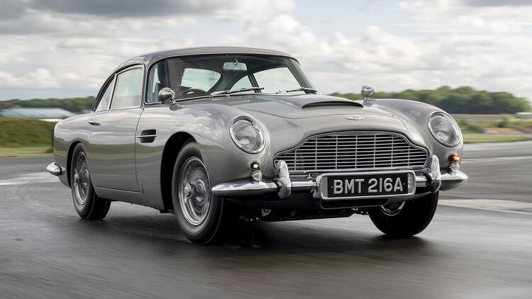 Aston Martin Db5 Goldfinger Ein Mal Wie 007 Fühlen Auto Motor Und Sport