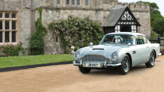 Aston Martin DB5 James Bond Urlaub