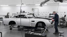 Aston Martin DB5 Replika Produktionsstart