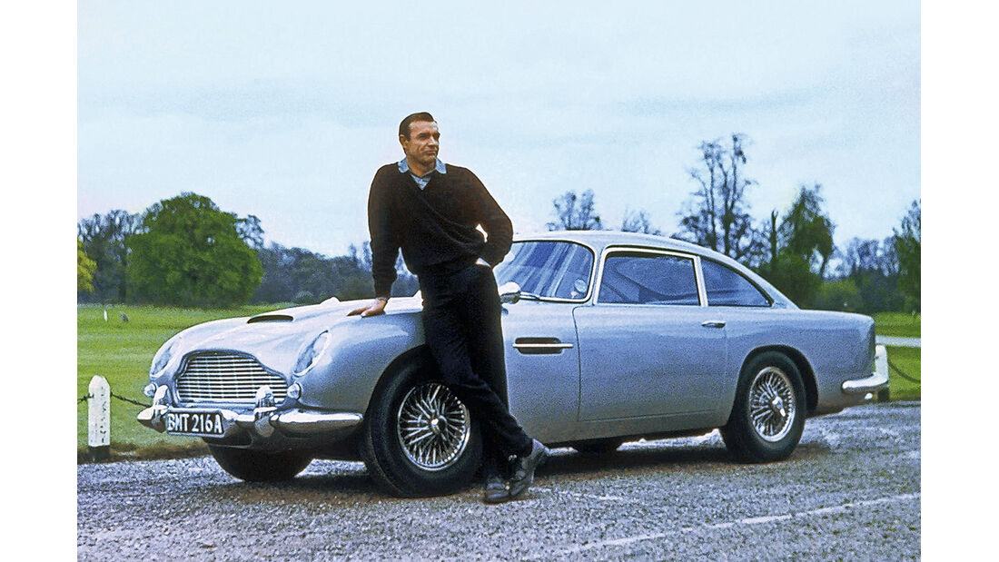 Aston Martin DB5, Sean Connery
