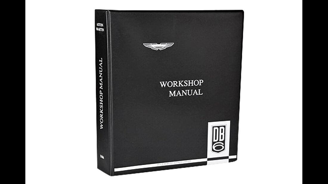 Aston Martin DB6, Handbuch