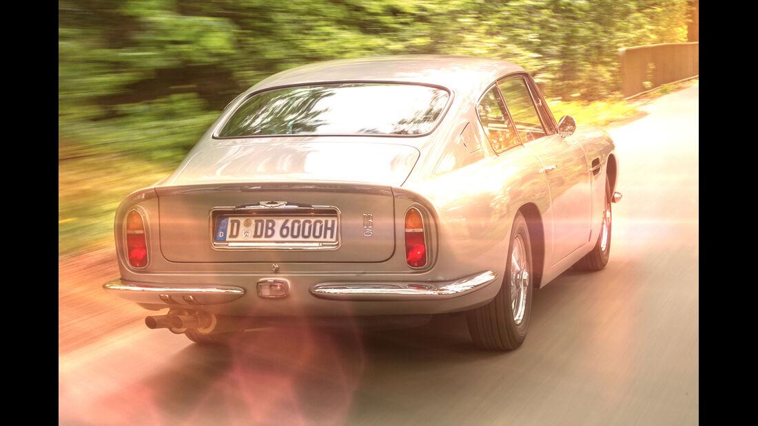 Aston Martin DB6, Heckansicht