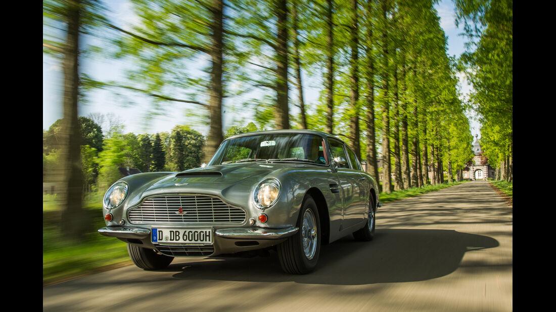 Aston Martin DB6 MK I, Frontansicht