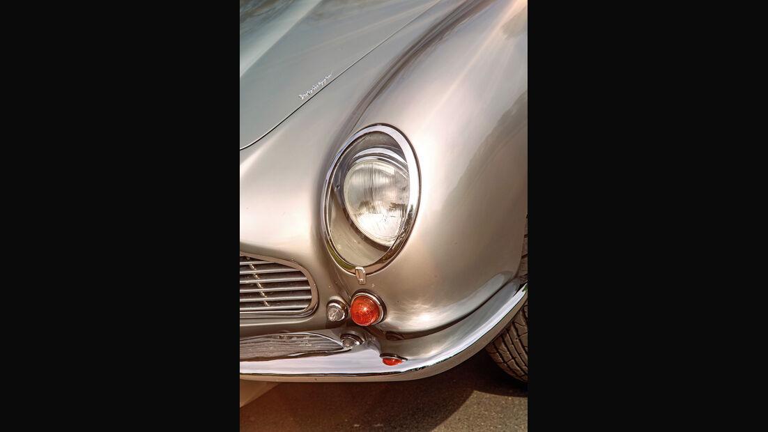 Aston Martin DB6 MK I, Frontscheinwerfer
