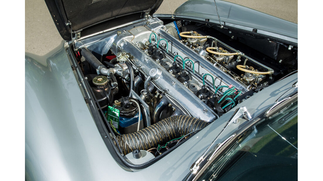 Aston Martin DB6 MK I, Motor