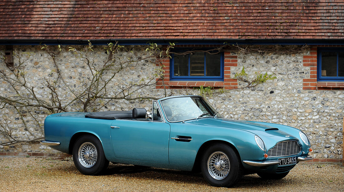 Aston Martin DB6 Mk2 Volante to Vantage Specification
