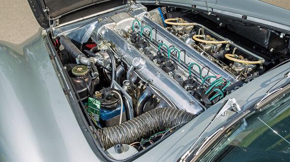 Aston Martin DB6, Motor