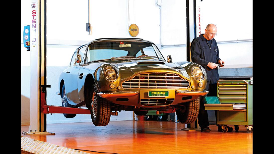 Aston Martin DB6, Werkstatt
