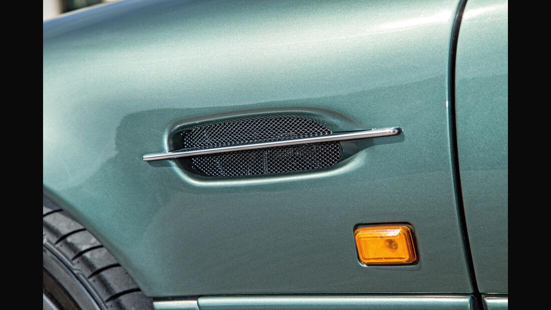 Aston Martin DB7, Entlüftung