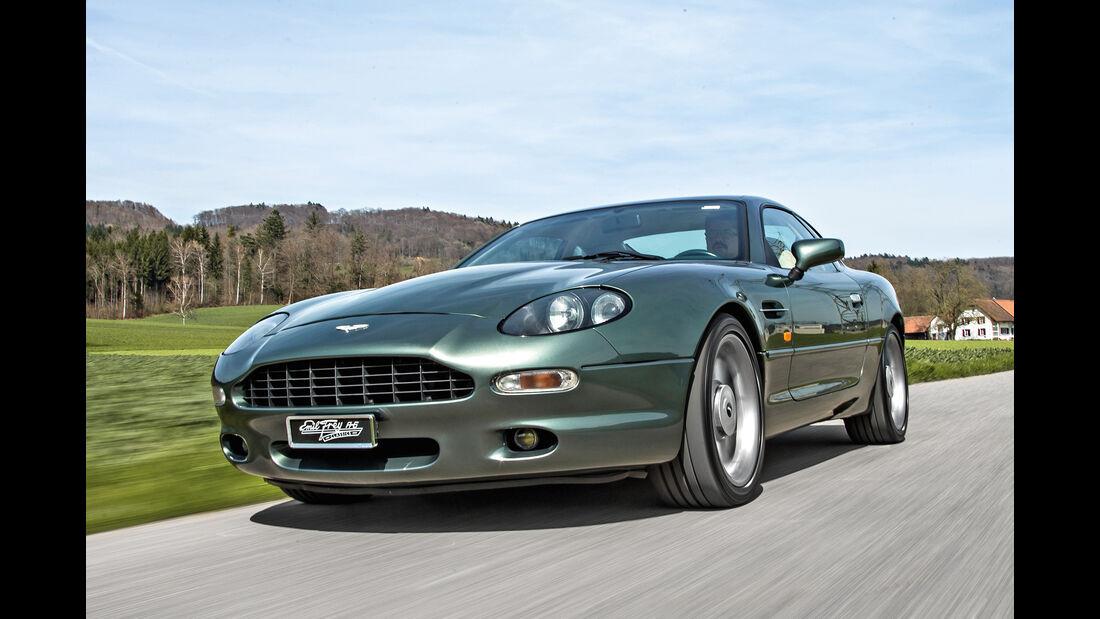 Aston Martin DB7, Frontansicht