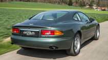 Aston Martin DB7, Heckansicht