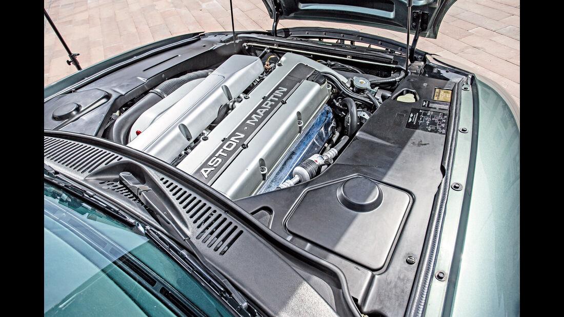 Aston Martin DB7, Motor