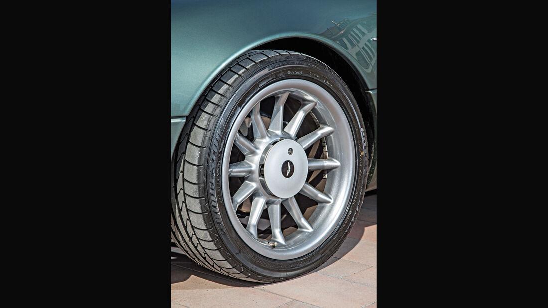 Aston Martin DB7, Rad, Felge