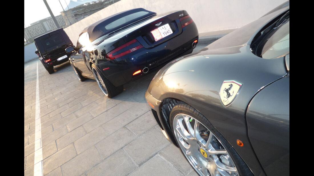 Aston Martin DB9 Abu Dhabi