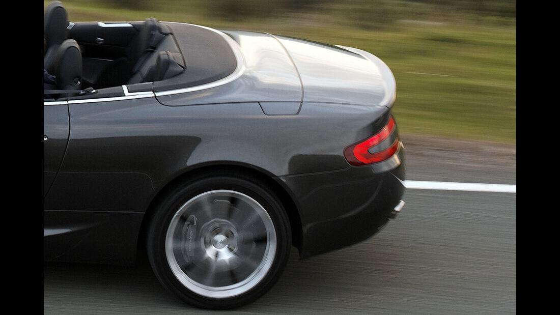 Aston Martin DB9 Cabrio, Facelift, 2010, Heck, Sportwagen