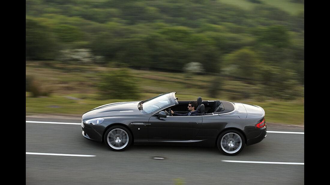 Aston Martin DB9 Cabrio, Facelift, 2010, Sportwagen