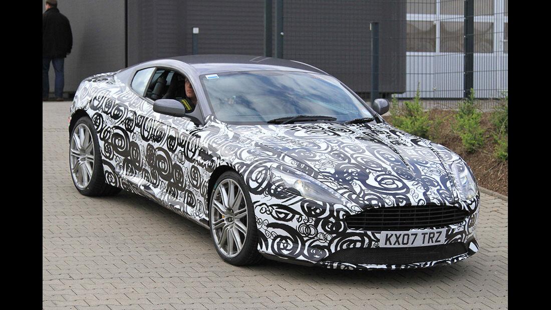 Aston Martin DB9 Erlkönig