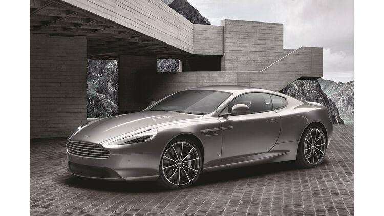 Aston Martin Db9 Gt Bond Edition Mit Einem Hauch Von 007 Auto Motor Und Sport