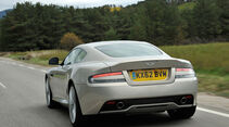 Aston Martin DB9, Heckansicht