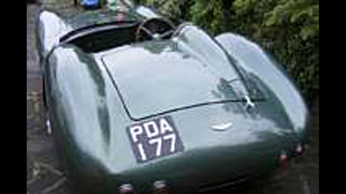 Aston Martin DBR2 Re-creation