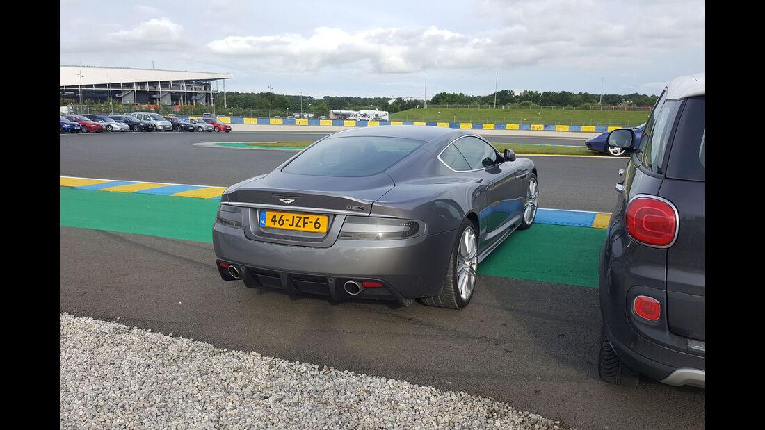 Aston Martin DBS - Carspotting - 24h-Rennen Le Mans 2016
